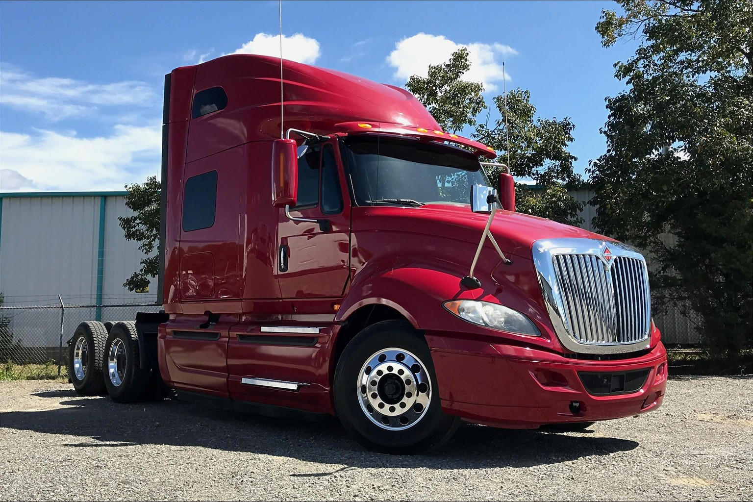Certified Pre-Owned 2015 International PROSTAR+ 122 6x4 Sleeper
